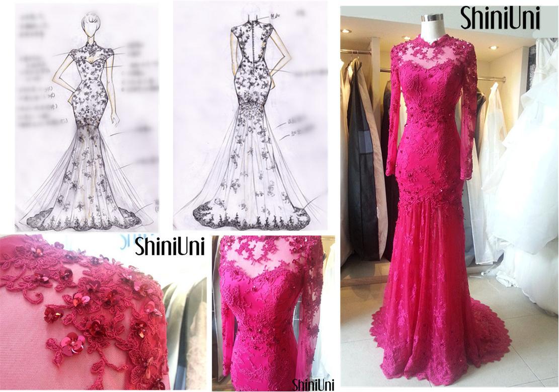 服装设计图铅笔手稿 裙子