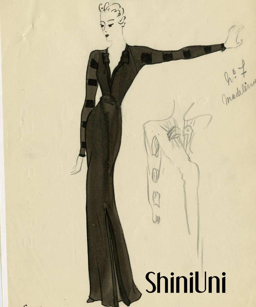 一代服装名师–巴黎世家 莎丽优丽婚纱礼服高级定制设计