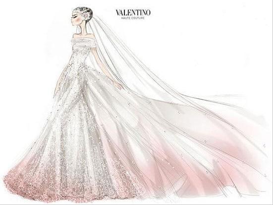 婚纱礼服定制设计 在2013春夏高级定制中寻觅婚纱新灵感四