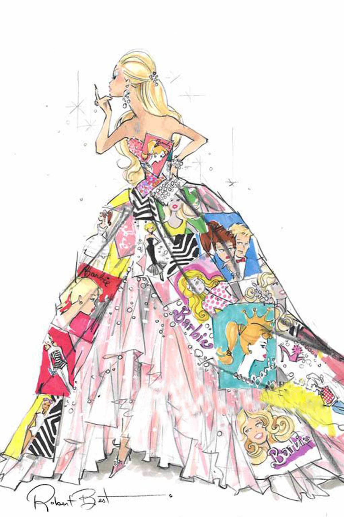 婚纱礼服手稿欣赏 wbr 广州莎丽优丽婚纱礼服高级设计定制